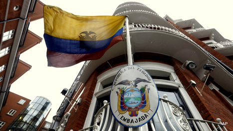 #Ecuador Denies #US Influence On Decision To Cut #Assange's Internet government #lies | The uprising of the people against greed and repression | Scoop.it