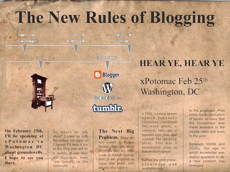The New Rules of Blogging | Life and Leadership | Scoop.it