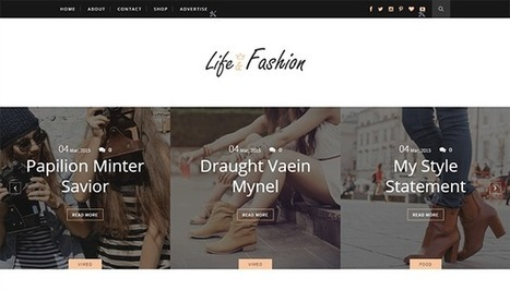 LIFE-FASHION | Blogger themes | Scoop.it