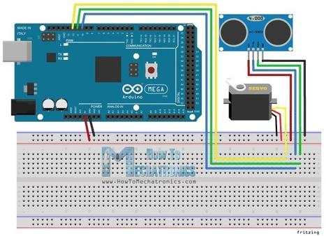 How to Make an Arduino Radar - HowToMechatronics | Open Source Hardware News | Scoop.it