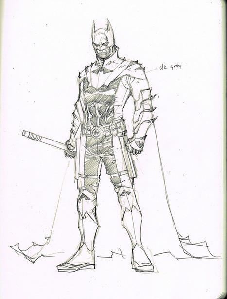 EARTH 2 CHARACTER DESIGNS – BATMAN   Comic Books   Scoop.it