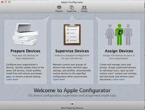 Apple Configurator Part I: Walkthrough | The Classroom iPad Library | Scoop.it