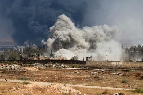 Syrie: des avions de la coalition internationale frappent l'armée syrienne | Voix Africaine: Afrique Infos | Scoop.it