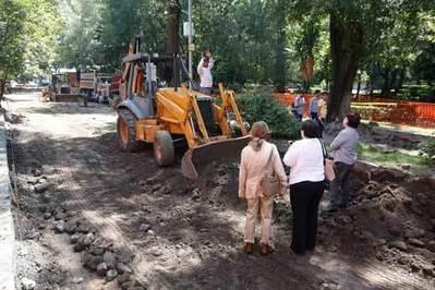 La delegación Coyoacán destruye el entorno del jardín de La Conchita - Ciudadanos en Red | COYOACAN TRAVEL REPORT | Scoop.it