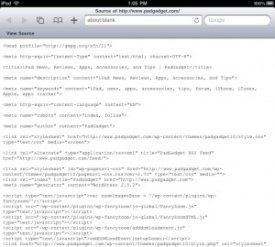 iPad Safari Tips – How to View and Search Web Page Source Code on Your iPad | PadGadget | Digital Study skills | Scoop.it