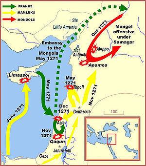 Mapa: Novena Cruzada   Las Cruzadas   Scoop.it