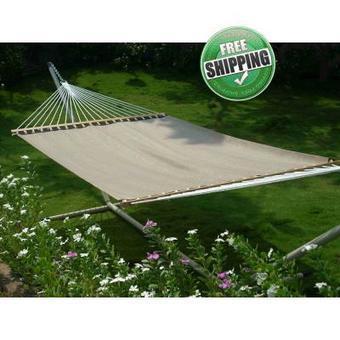 Swimming pool Side Use QUICK DRY Fabric Hammock Furniture - Brown | Hammocks in India | Scoop.it
