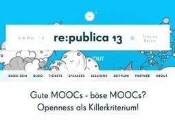 MOOC Manifest   re:publica 2013 (Vortragsskript und Charts) - #MMC13 - der Open MOOC-Maker Course 2013   barcamps, educamps. opencourses, moocs   Scoop.it