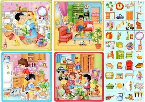 Juegos de vocabulario | Español para los más pequeños | Scoop.it