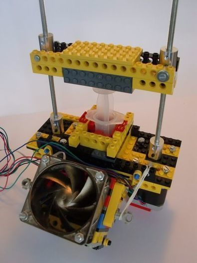 3D Chocolate Printer (made from LEGO) | Digital Design and Manufacturing | Scoop.it