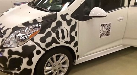 QR Code On The Chevrolet Spark EV - 2d-code | AniseSmith QR codes | Scoop.it