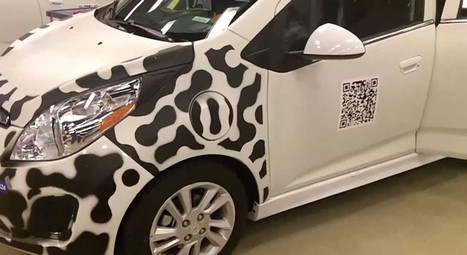 QR Code On The Chevrolet Spark EV - 2d-code | Aries-Graphic Design & Internet Marketing | Scoop.it