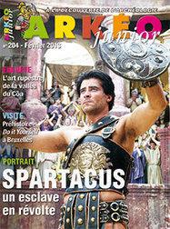 Spartacus, un esclave en révolte | Arkéo Junior n° 204 | presse | Scoop.it