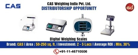 Leading Electronic Weighing Scales Company Looking for Distributors | Become or Appoint Distributor, Franchisee or Sales Agent | Scoop.it