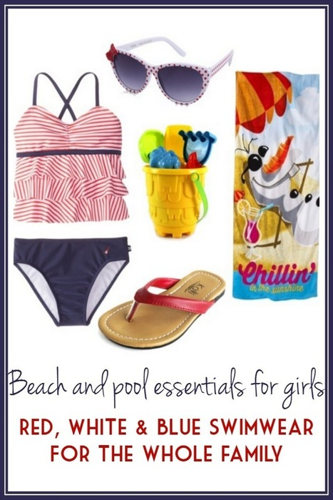 Red, White & Blue Beach/Pool Wear | Marla Murasko's Musings From A Special Needs Mom | Style | Scoop.it