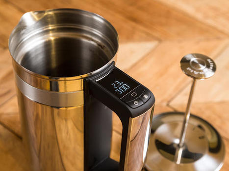 This Kitchen Aid French Press comes with a built-in scale but... | Coffee Makers | Scoop.it