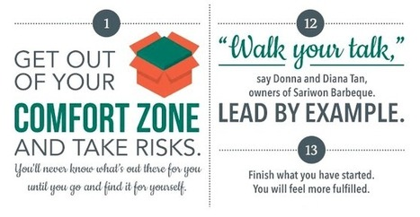 25 Ways To Get Out of Your Comfort Zone [Infographic] | Personal Development | Scoop.it