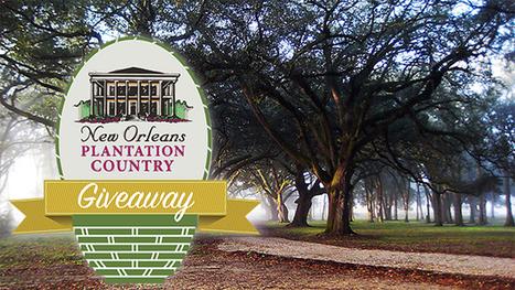 New Orleans Plantation Country Giveaway | Oak Alley Plantation: Things to see! | Scoop.it