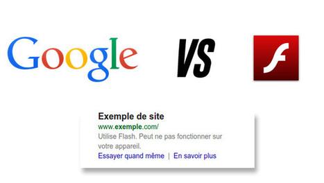 #Google Mobile France : Les sites en flash désormais pénalisés ! | SEO | Scoop.it