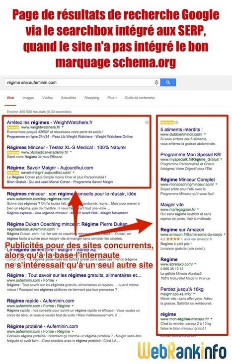Un champ de recherche pour son site dans les SERP Google   Stock Articles   Scoop.it