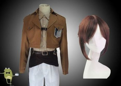 Survey Corps Jacket Sasha Braus Cosplay Outfits + Wig | Attack on Titan Cosplay Costumes | Scoop.it