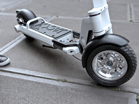 JAC< Foldable Electric Powered Scooter by Springtime » Yanko Design | EEDSP | Scoop.it