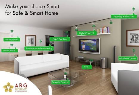 Make your choice smart for safe & smart home | Residential Projects | Scoop.it