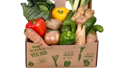 Asda puts UK's first supermarket wonky veg box on sale | Gardening | Scoop.it