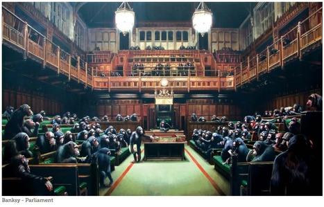 Banksy - Parliament | World of Street & Outdoor Arts | Scoop.it