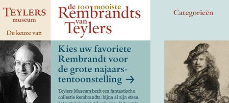 Publiek kiest tentoonstelling Rembrandt   FMT Cultuur   Scoop.it