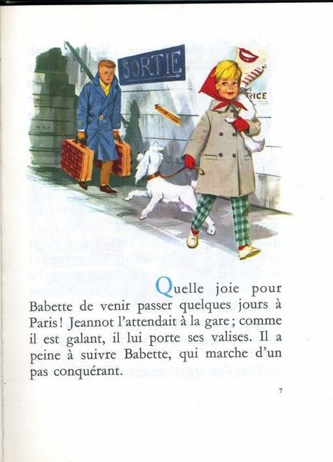 BABETTE à PARIS | FLE enfants | Scoop.it