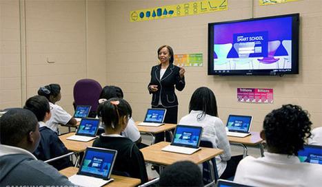 Will 'Samsung School' Classroom Technology Program Spread?   ESL Program management   Scoop.it