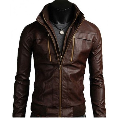 Men's Leather Jackets Style Casual Slim Fit Biker Leather Jacket Mens | Adidas TT10 Black Hockey Stick | Scoop.it