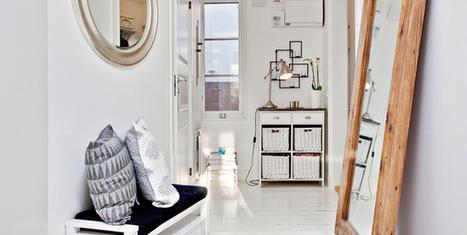 Un appartement en blanc intemporel | PLANETE DECO a homes world | habitat et deco | Scoop.it