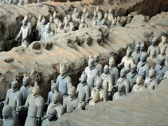 Emperor Qin's Terra Cotta Army - National Geographic | Ancient China | Scoop.it