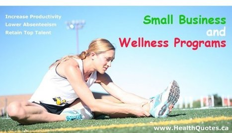 Wellness Programs and Small Businesses | Health Insurance | Scoop.it