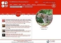 La Liste rouge mondiale des espèces menacées - Comité français de l'UICN | Protection de la biodiversité | Scoop.it