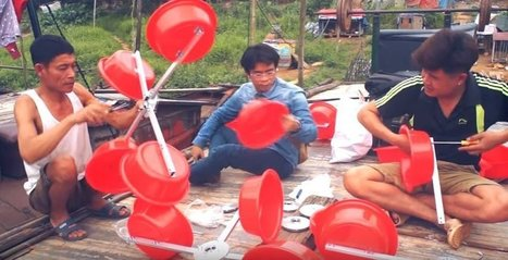 Broken Printers and Plastic Buckets Are Providing Electricity to Vietnam's Poor | Social Environment, Health and Wellbeing | Scoop.it
