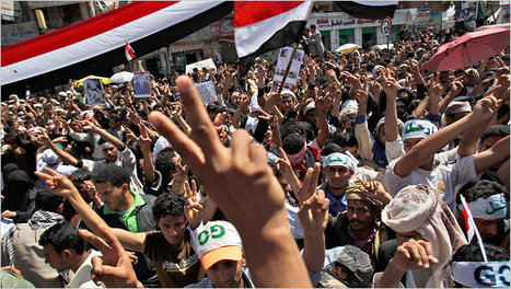 Huge Yemeni crowds press on for president's ouster | Coveting Freedom | Scoop.it