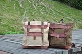 classic canvas leahter trek backpacks | personalized canvas messenger bags and backpack | Scoop.it