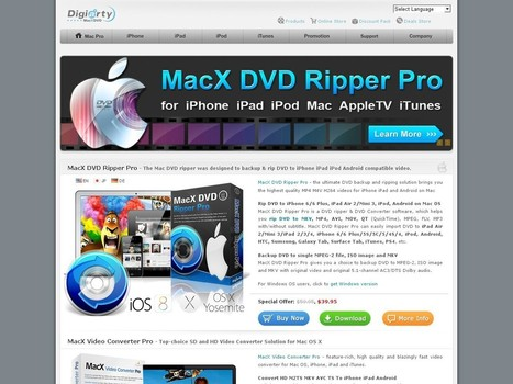 Promo Code for MacX DVD Ripper Pro (Free Get iPhone Converter) -  Discount Code | Best Software Promo Codes | Scoop.it