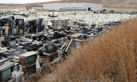 E-waste map shows where there is wealth there are piles of electronic castoffs | Electronics - Issues and Problems | Scoop.it