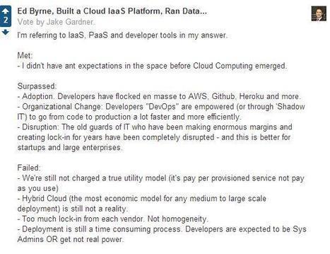 Is Cloud Computing Meeting Its Expectations? | cloud computing this week | Scoop.it