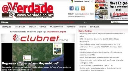 @Verdade: un medio ciudadano para velar por la imparcialidad de las elecciones en Mozambique | Periodismo Ciudadano | Periodismo Ciudadano | Scoop.it