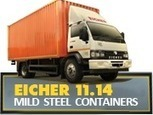 EICHER 11.14   14500 KGS. (14.5 Ton) GVW Truck   Eicher   Scoop.it
