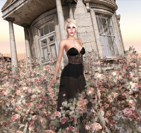 Luna Dress September 2016 Group Gift by #bubbles | Teleport Hub - Second Life Freebies | Second Life Freebies | Scoop.it