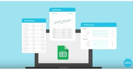 Easily prepare financial statements with a new Google Sheets template from Xero | Tecnología Educativa Morreducation | Scoop.it