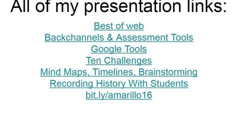 Free Technology for Teachers: A Week of Presentations - A Slide of Slides | All about e-learning.... | Scoop.it