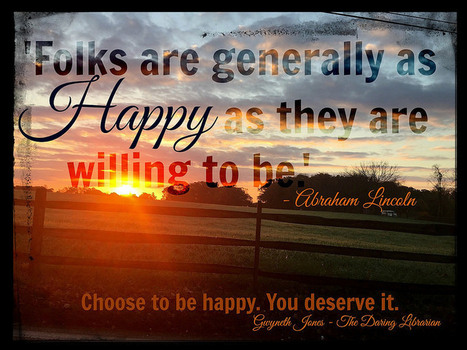 Abe wants you to be happy. So do I. | Heart_Matters | Scoop.it
