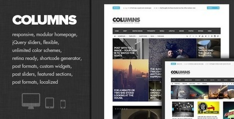 Columns v1.2 *Impressive Magazine and Blog theme | SEO TOOLS AND TRICKS | Blogging Tips | Scoop.it